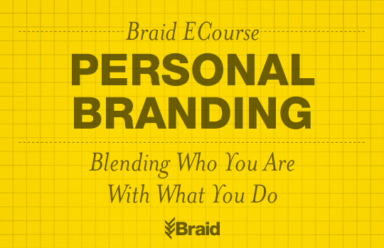 Personal Branding by Braid Creative