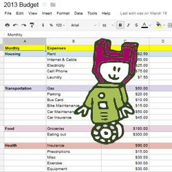 This robot LOVES budgets!